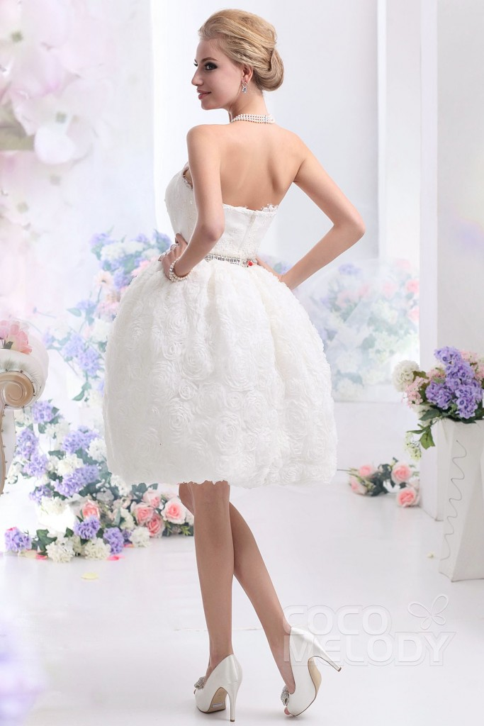 ball-gown-ivory-knee-length-strapless-lace-wedding-dress-b12170-c_2